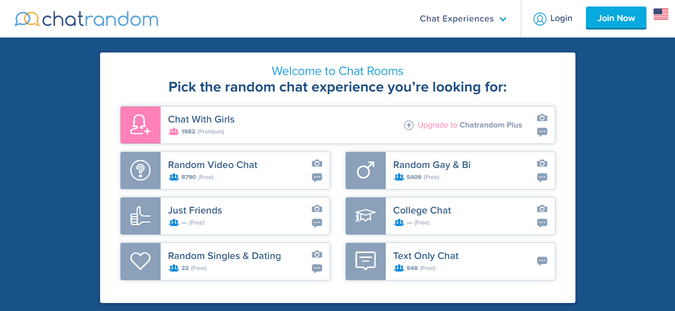 Chatrandom Chatroom