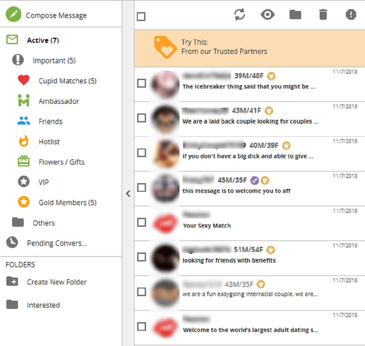 Passion.com Messaging