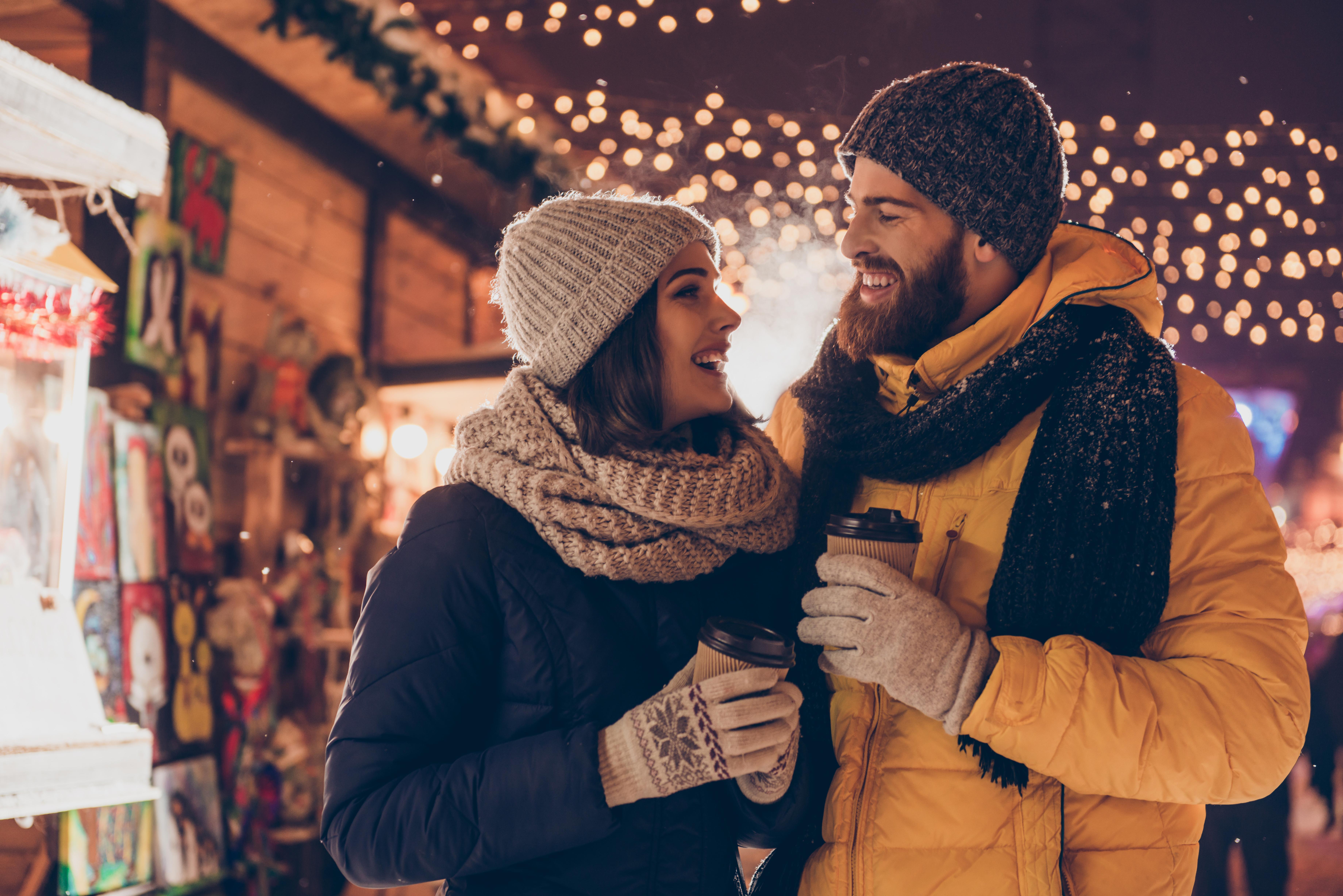 Romantic Christmas Stroll