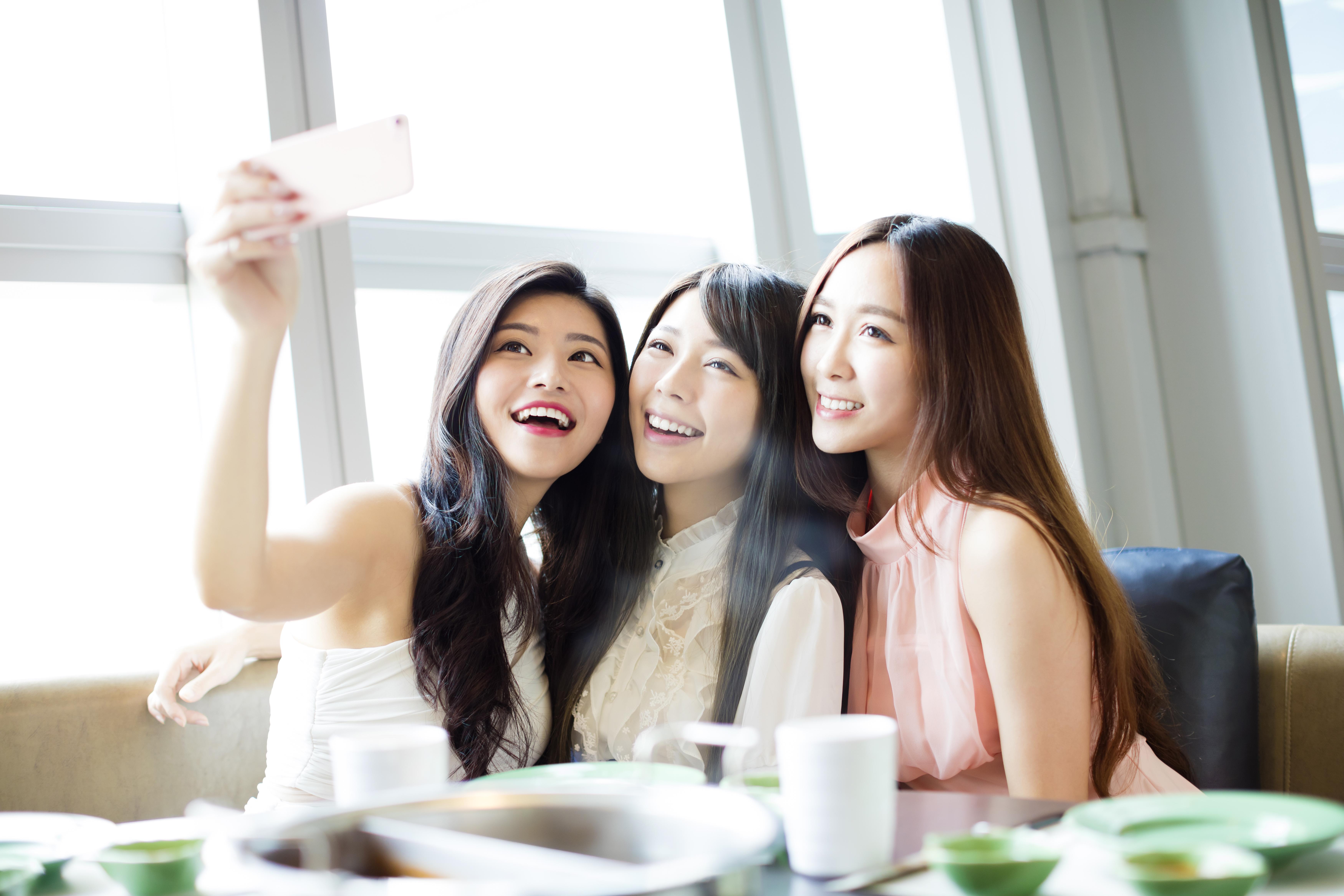 Asian Women Friends