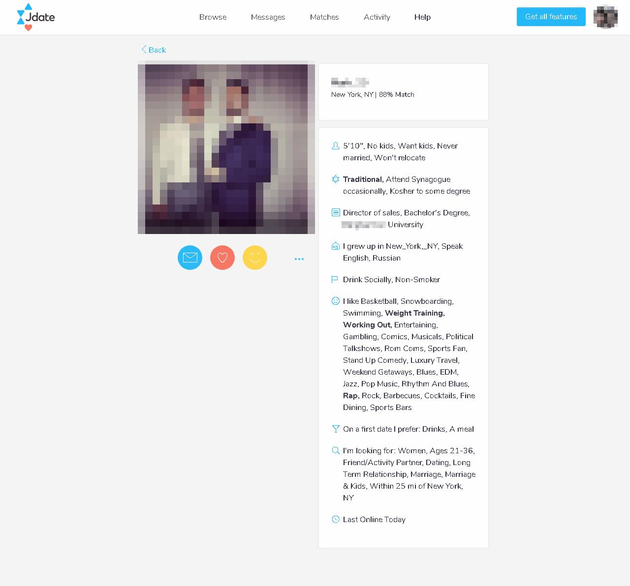 Jdate Profile