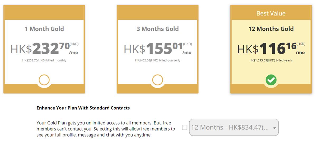 Senior Sizzle Price HK