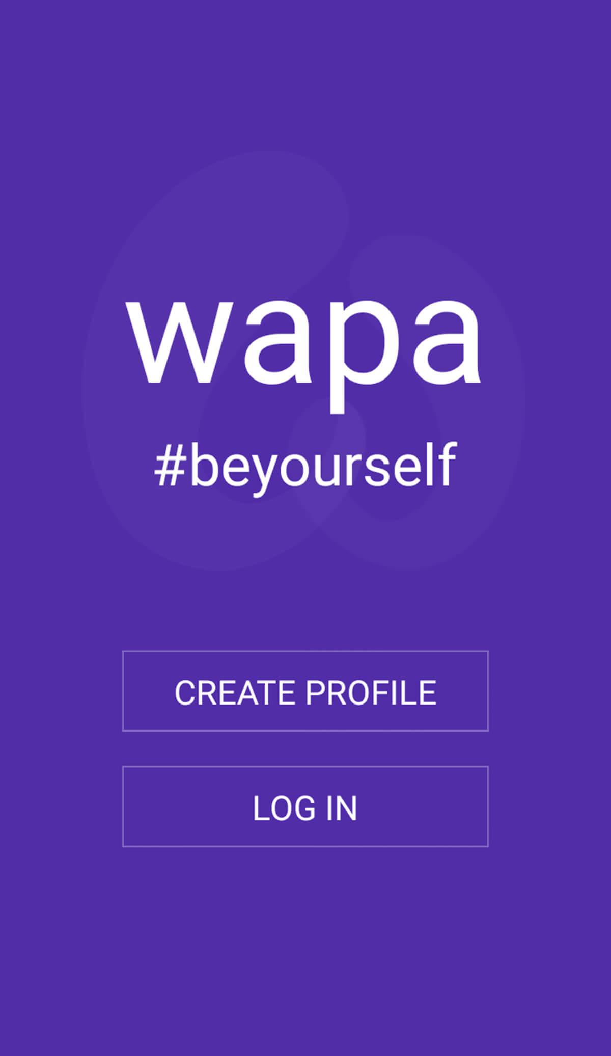 Wapa Registration