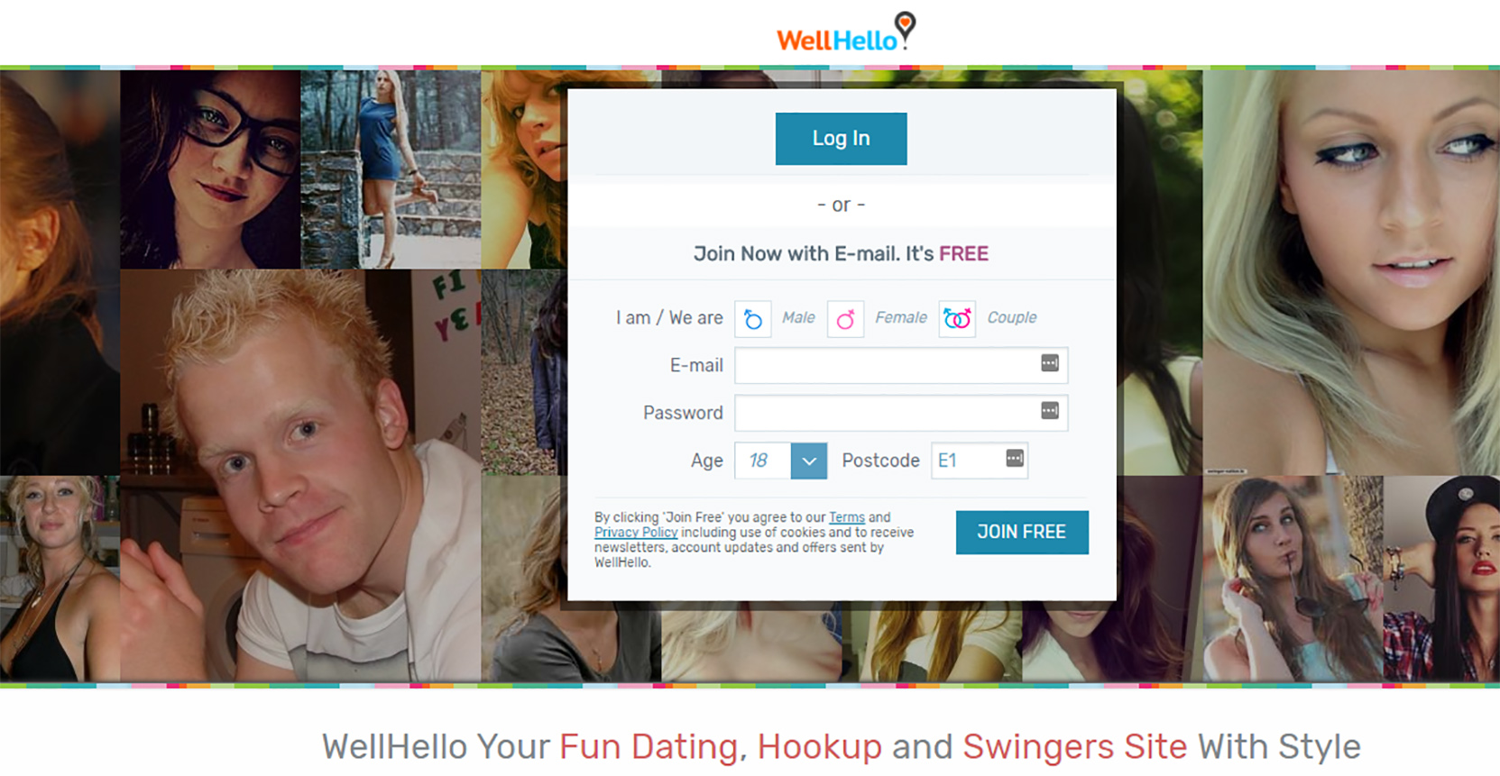 WellHello Sign-up