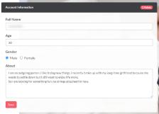 EroticMadness Profile Information