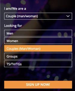registration form of swapfinder