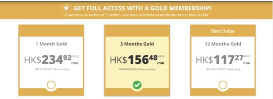 XMatch Gold HK
