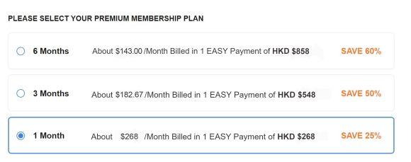 BiCupid HK Price