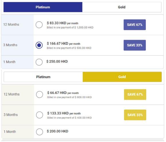 ChinaLoveCupid Price HK