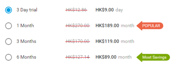 GaysGoDating Price HK