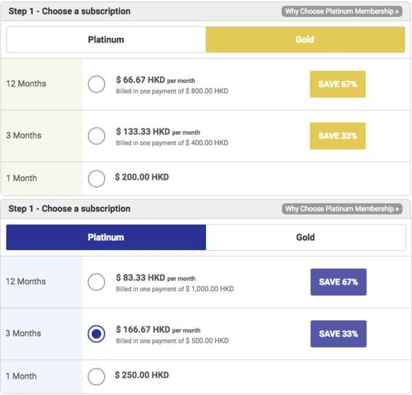 KoreanCupid Pricing HK
