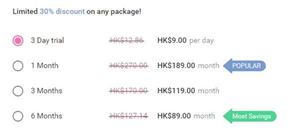 Mamflirt Price HK