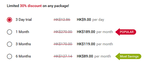 WantUBad HK Price