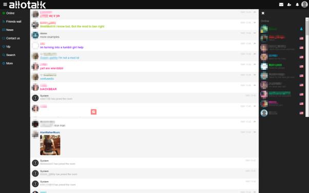 AlloTalk Teen Chat Room