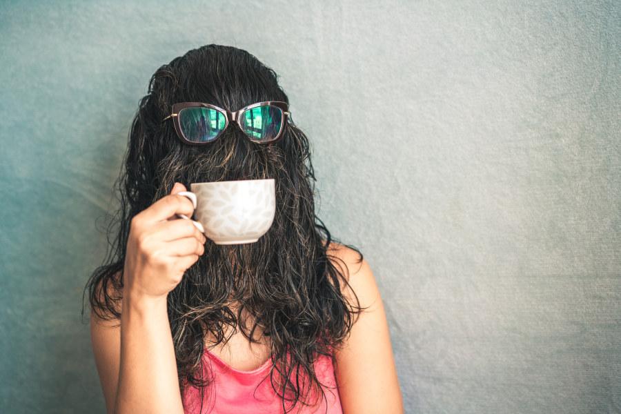 Friendzone Woman Covered Hair