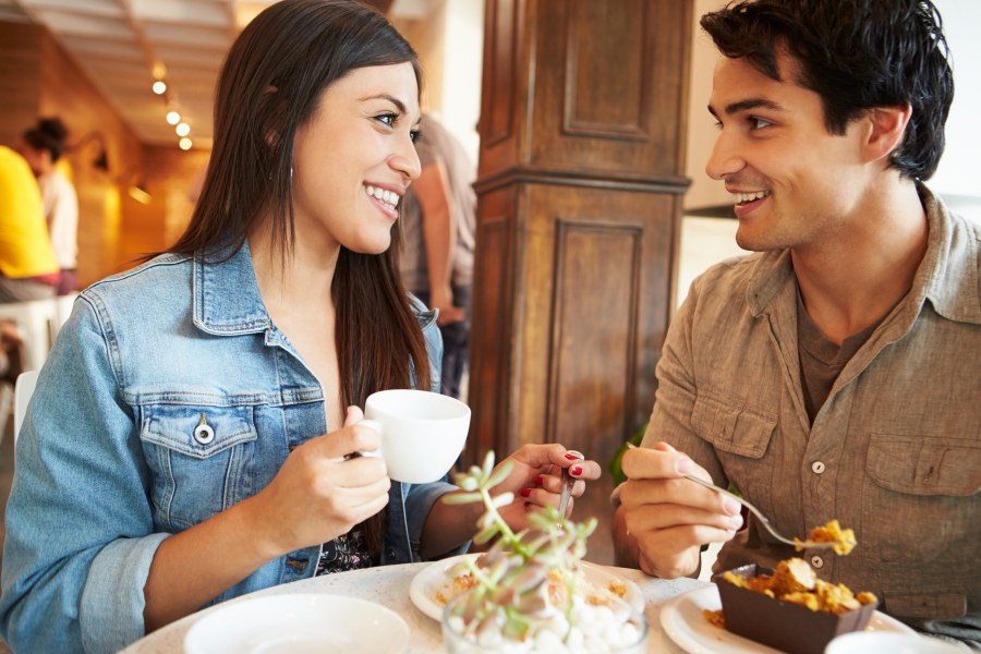 Latino Couple on a Date