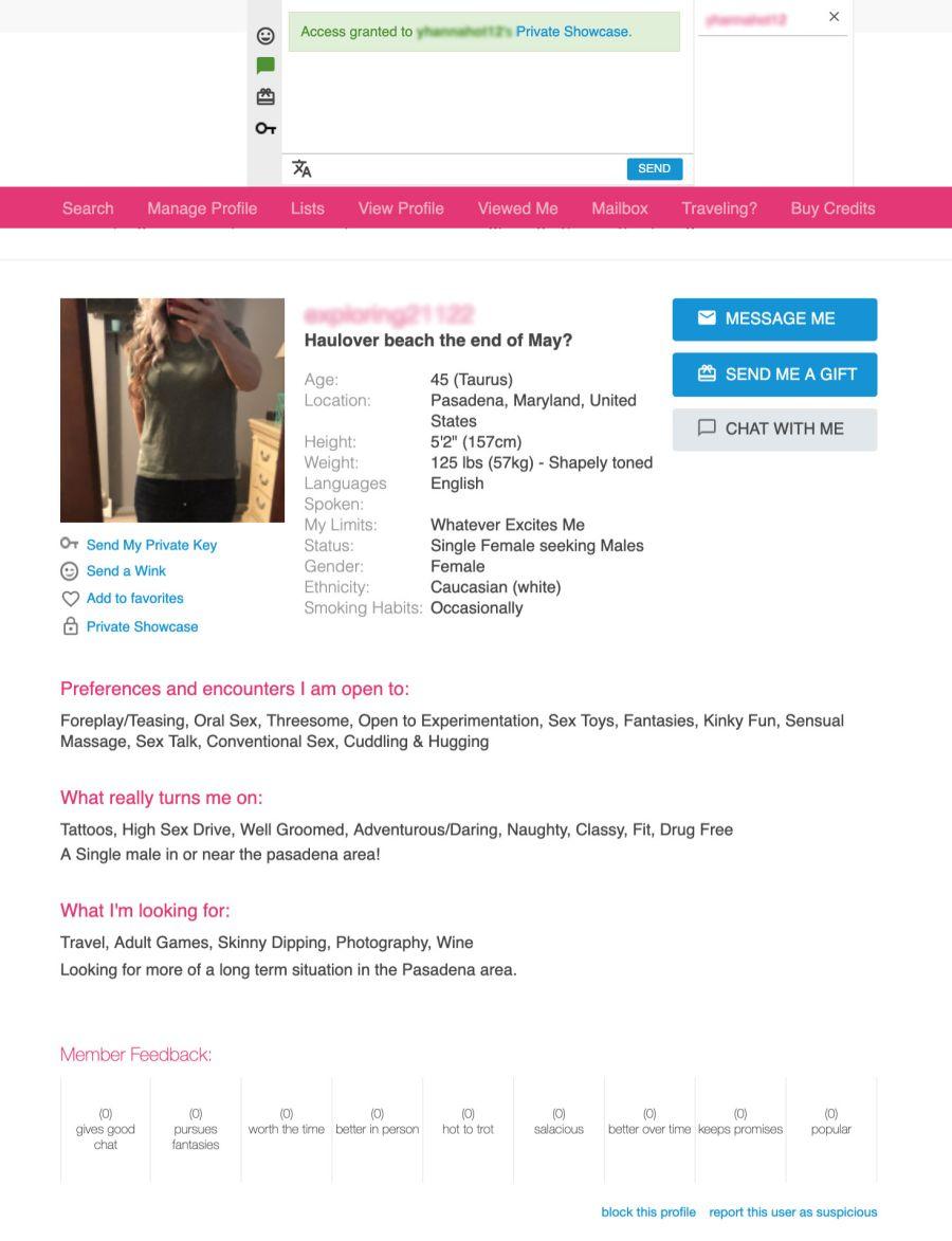 Ashley Madison Profile