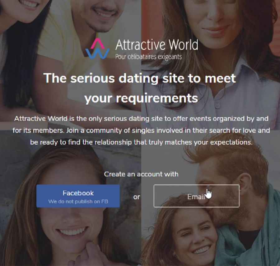 attractiveworld-registration