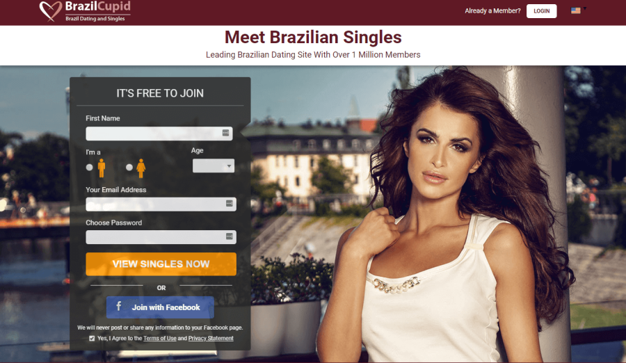 Brazil Cupid Registration