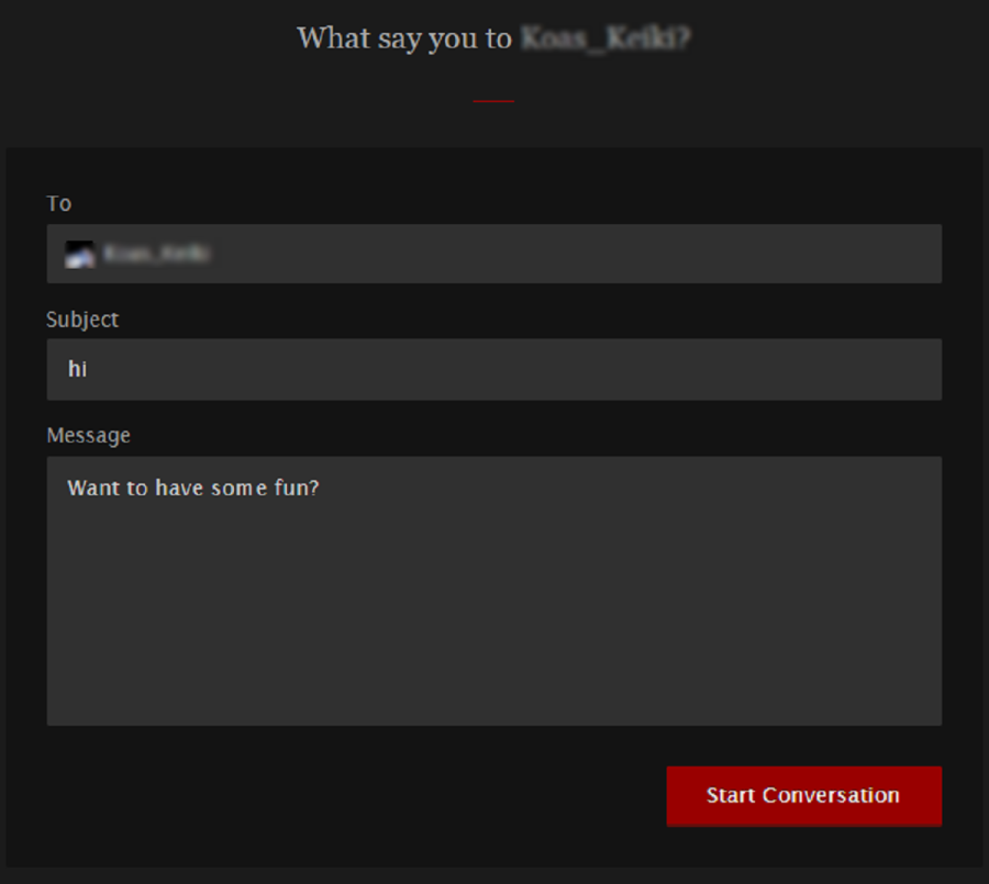 FetLife Messaging