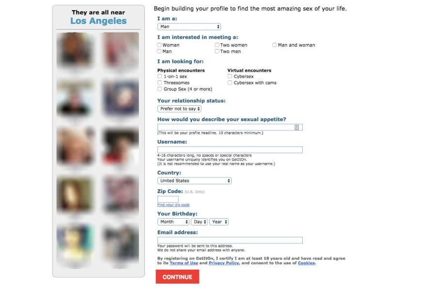 Get It On Registration