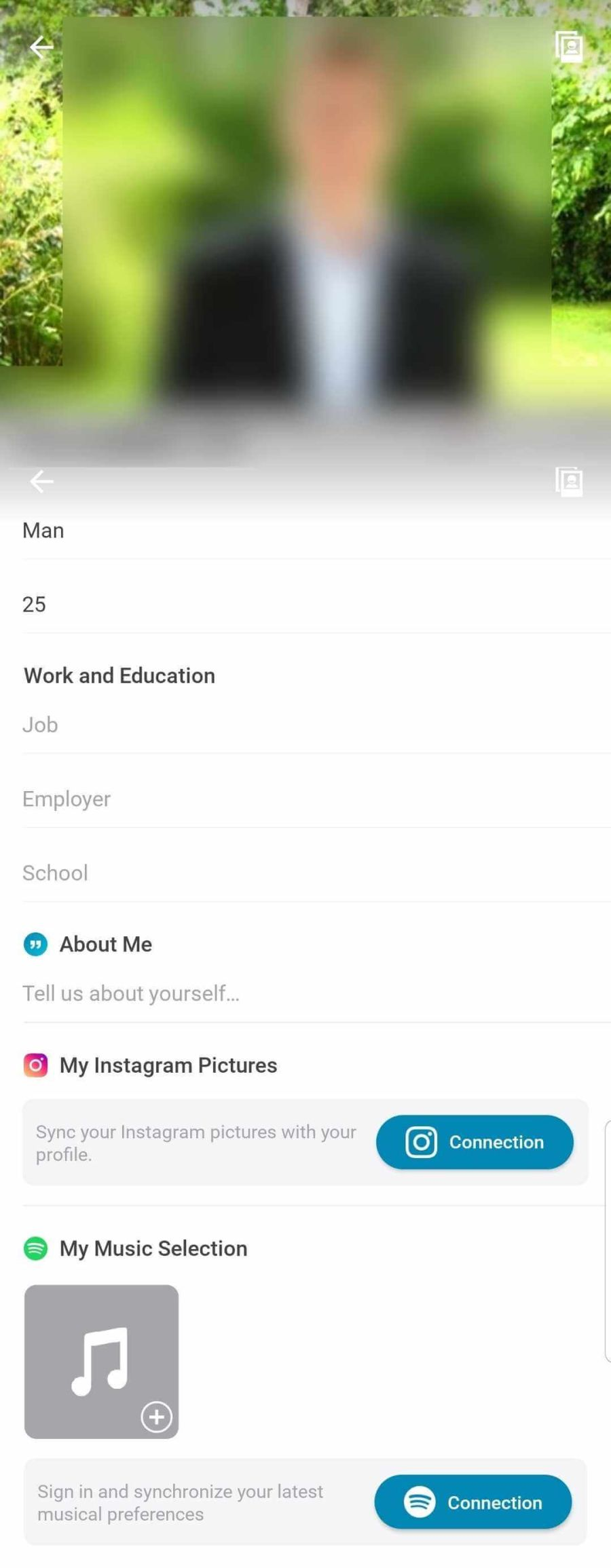 Happn Profile
