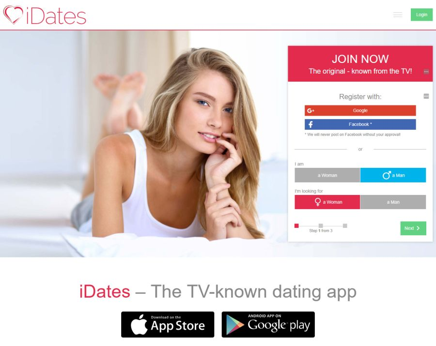 iDates Sign up