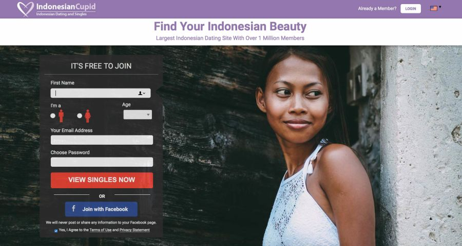 Indonesian Cupid Registration