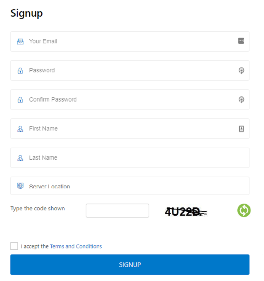 mylivechat signup