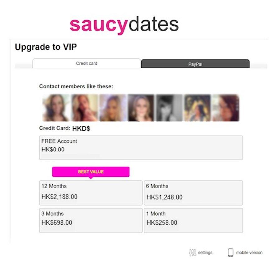 SaucyDates Cost HK