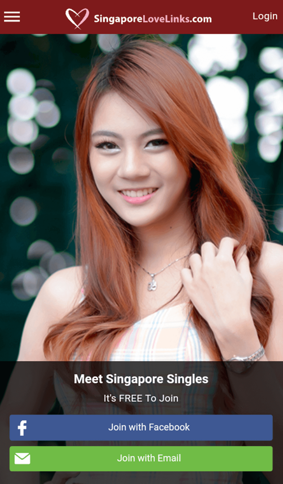 SingaporeLoveLinks App1