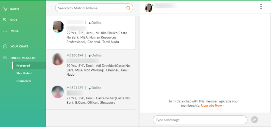 tamil matrimony chat