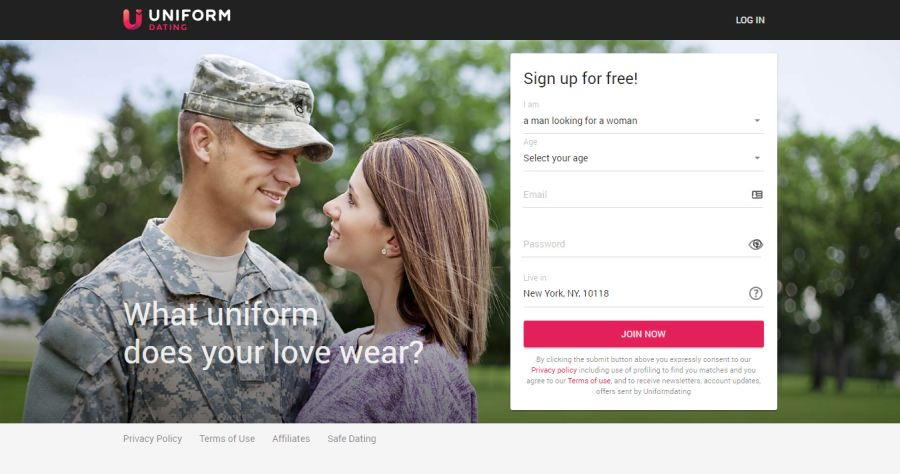 Uniformdating Signup